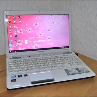 トウシバ(東芝)の高速 Pentium/地デジ/フォトショップ/Office2016/1337(ノートPC)