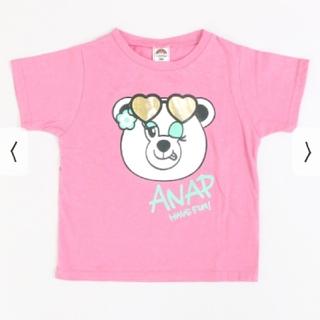 アナップキッズ(ANAP Kids)のANAPkids新品キャラクターTシャツ(Tシャツ/カットソー)