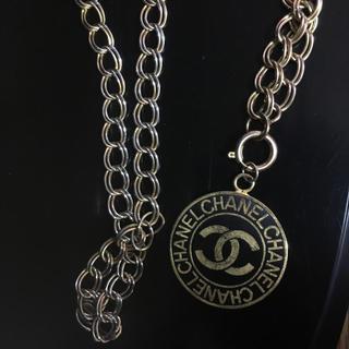 シャネル(CHANEL)のvintage chanel coin necklace(ネックレス)