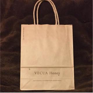 ベキュア(VECUA)のVECUAHoney ショップ袋 ショッパー   紙袋(ショップ袋)