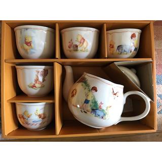 Winnie The Pooh 陶器 茶器セット