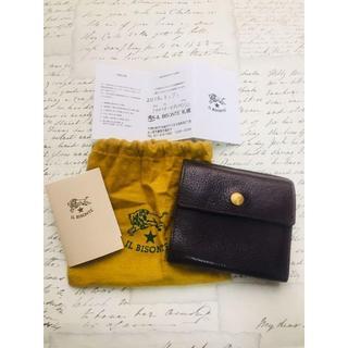 イルビゾンテ(IL BISONTE)の美品!イルビゾンテ 二つ折り財布 ウォレット(折り財布)