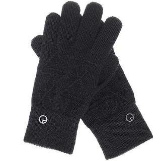 アルマーニ コレツィオーニ(ARMANI COLLEZIONI)の正規品 アルマーニ ウール手袋グローブ 新品、タグ付き(手袋)