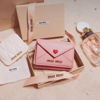 miumiu - MiuMiu ミュウミュウ 折り財布 ラブレター