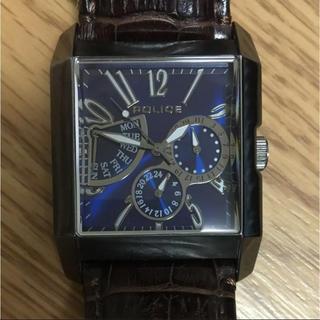 ポリス(POLICE)のPOLICE 腕時計 電池交換済(腕時計(アナログ))