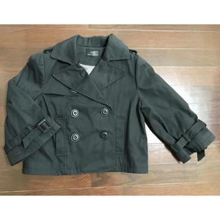 イオリ(IORI)のIORIイオリ★ショートジャケット黒M 美品(テーラードジャケット)