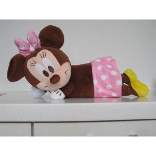 ディズニー(Disney)の【新品・未使用】寝そべりミニー(ぬいぐるみ)
