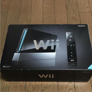 ウィー(Wii)の任天堂 Wii  本体(家庭用ゲーム本体)