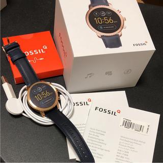 フォッシル(FOSSIL)のFOSSIL Q EXPLORIST 腕時計(レザーベルト)