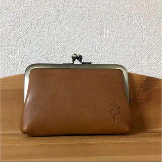 カンミ(Kanmi.)のkanmi ♡ カンミ 牛革 ドロップツリー がま口   財布 コインケース(コインケース)
