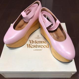 ヴィヴィアンウエストウッド(Vivienne Westwood)の激レア!限定品ピンクのロッキンホースバレリーナ美品(その他)