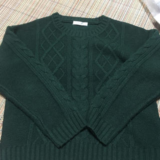 SPINNS - SPINS ニット セーター 緑