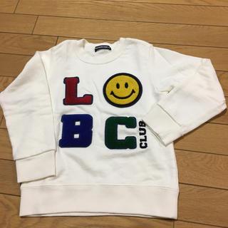 リトルベアークラブ(LITTLE BEAR CLUB)のキッズスマイリートレーナー(Tシャツ/カットソー)