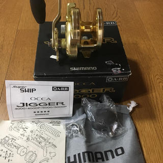 SHIMANO - シマノ オシアジガー4000 HG