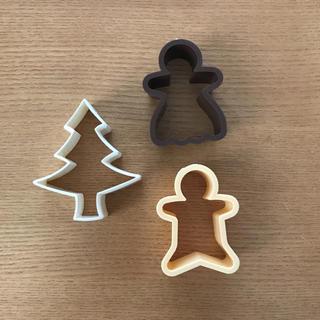 MUJI (無印良品) - 無印良品 クリスマス クッキーカッター クッキー型