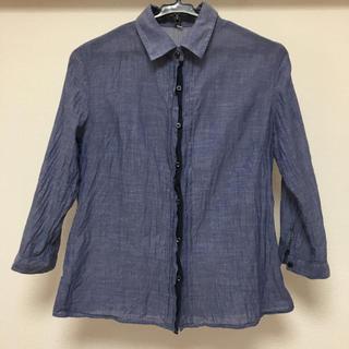 ムジルシリョウヒン(MUJI (無印良品))の無印良品 シャツ 7分 Sサイズ(シャツ/ブラウス(長袖/七分))