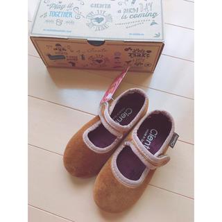 Caramel baby&child  - ♡cienta ベロアシューズ14cm♡シエンタ