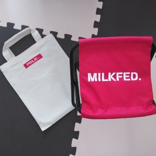 ミルクフェド(MILKFED.)の💺MILKFED.💺折りたたみ椅子、折りたたみチェア(折り畳みイス)