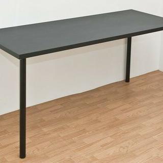 フリーテーブル PCデスク  書斎用 作業台 150×60 【ブラック】(その他)