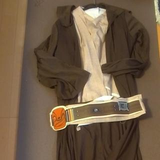 Star Wars ジェダイローブ ハロウィンコスチューム 男子120~140(衣装一式)