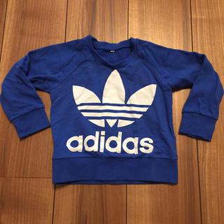 アディダス(adidas)のadidas Tシャツ 青(Tシャツ)