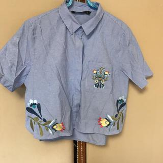 ザラ(ZARA)のシャツ(シャツ/ブラウス(半袖/袖なし))