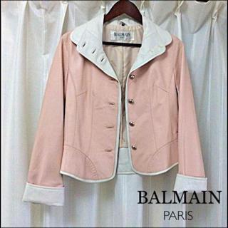 バルマン(BALMAIN)のBALMAIN レザージャケット(テーラードジャケット)