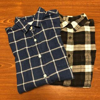 ムジルシリョウヒン(MUJI (無印良品))の無印 ネルシャツ  2枚(シャツ/ブラウス(長袖/七分))