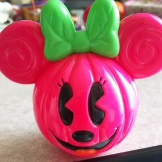 ディズニー(Disney)のHALLOWEEN ミニー かぼちゃ 置き物 セット(置物)