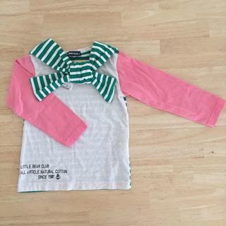 リトルベアークラブ(LITTLE BEAR CLUB)の重ね着風ロンT(Tシャツ/カットソー)