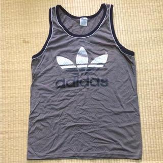 アディダス(adidas)のヴィンテージ アディダスオリジナル タンクトップ バスケ ユニフォーム 古着(タンクトップ)