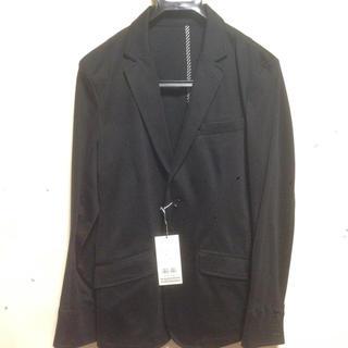 メンズビギ(MEN'S BIGI)の新品タグ付き☆ メンズビギ ブラックジャケット(テーラードジャケット)
