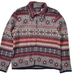 ◆TUNDRA◆sizeL zipup sweater tops(ニット/セーター)