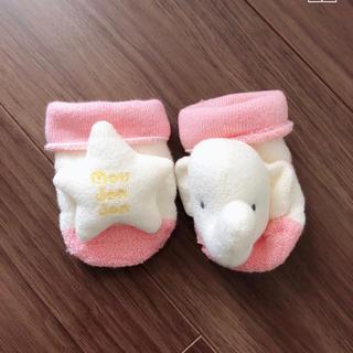 ムージョンジョン(mou jon jon)の新生児用靴下(靴下/タイツ)