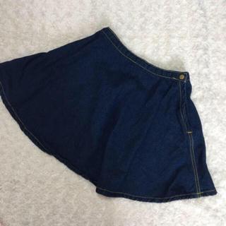 アメリカンアパレル(American Apparel)のAmericanApparel デニムスカート(ミニスカート)