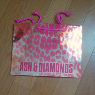 アッシュアンドダイアモンド(ASH&DIAMONDS)の新品未使用 ASH & DIAMONDS 紙袋 ショップ袋  レオパード(ショップ袋)