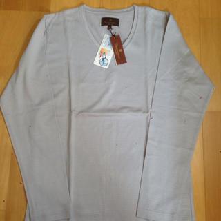 メンズビギ(MEN'S BIGI)の新品タグ付き☆ ディスィンクションメンズビギ グレーカットソー(Tシャツ/カットソー(七分/長袖))