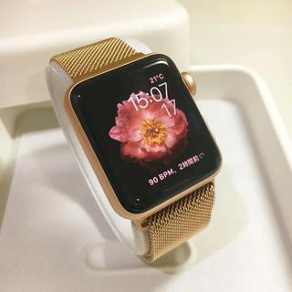Apple Watch シリーズ3 セルラーモデル 38mm ゴールド