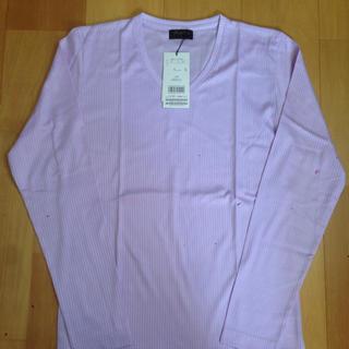 メンズビギ(MEN'S BIGI)の新品タグ付き☆ メンズビギ パープルカットソー(Tシャツ/カットソー(七分/長袖))