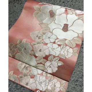 正絹、袋帯(帯)