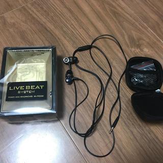 JVC HA-FXZ200 LIVE BEATシリーズ カナル型イヤホン(ヘッドフォン/イヤフォン)
