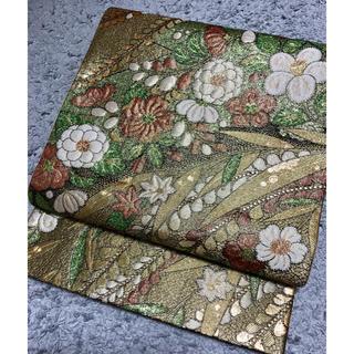 正絹、アンティーク袋帯(帯)
