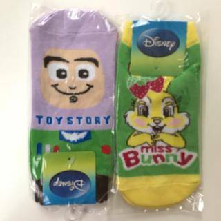 ディズニー(Disney)の大人気☆早い者勝ち‼︎ディズニー靴下 キャラクター  新品 セット(ソックス)