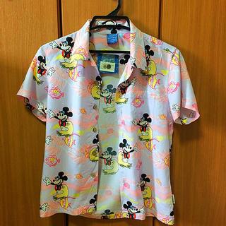 ディズニー(Disney)のミニーちゃんアロハシャツ ディズニー(シャツ/ブラウス(半袖/袖なし))