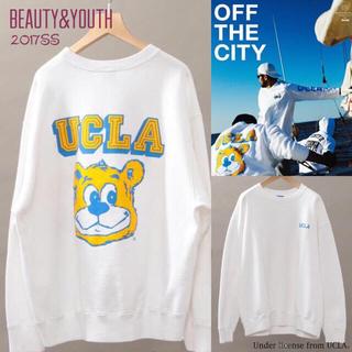 【2017SS】ビューティ&ユース別注 UCLA スウェット 美品 メンズS