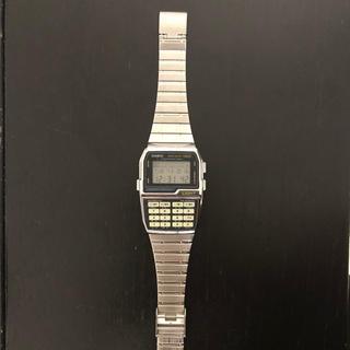 カシオ(CASIO)の【美品】CASIO 腕時計 データバンク 150(腕時計(デジタル))