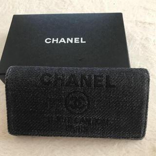 シャネル(CHANEL)のCHANEL シャネル 長財布 ドーヴィル(財布)