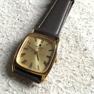 ユニバーサルジュネーブ(UNIVERSAL GENEVE)のユニバーサルジュネーブ 手巻き 実動(腕時計(アナログ))