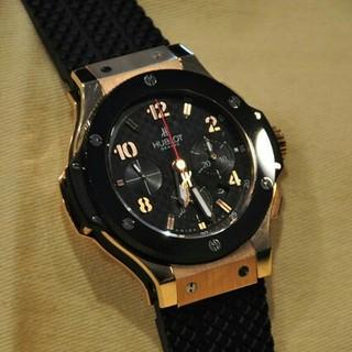 ウブロ(HUBLOT)のウブロ ビッグバン ゴールド セラミック 301.PB.131.RX(腕時計(アナログ))