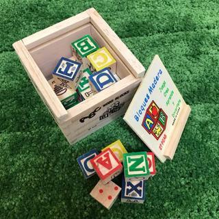 アルファベットブロック27個(知育玩具)